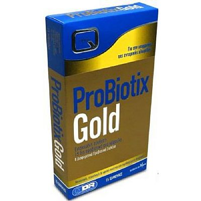 Quest Nutra Pharma Probiotix Gold 15 κάψουλες