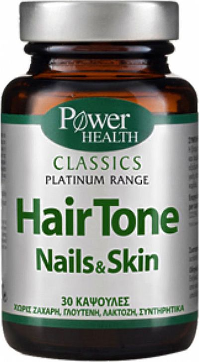 Power Health Hair Tone Nails & Skin ,30 κάψουλες