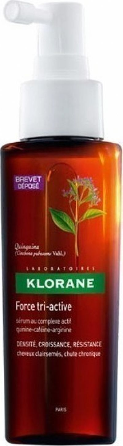 Klorane Quinine Force Tri-active Serum για χρόνια τριχόπτωση,100ml