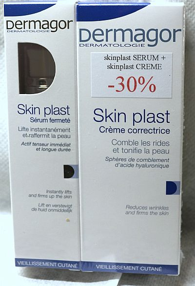 Dermagor Set Skin Plast Serum 30 ml & Κρέμα Προσώπου,40 ml