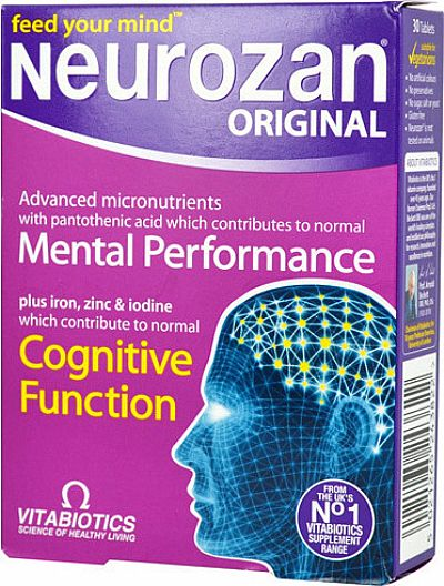 Vitabiotics Neurozan 30 ταμπλέτες
