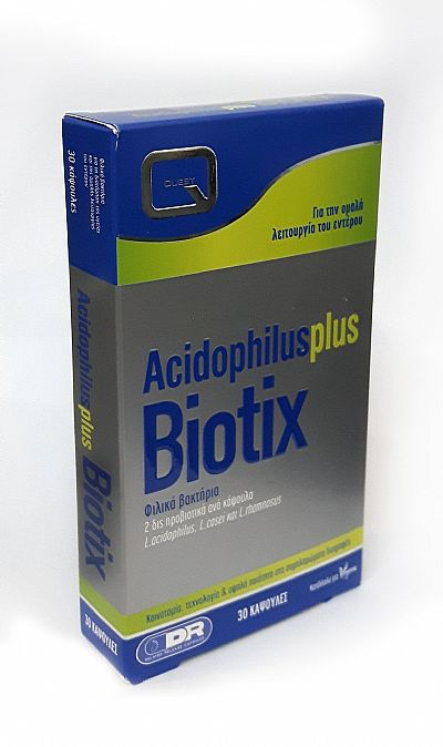 Quest Acidophilus Plus Biotix,30 κάψουλες
